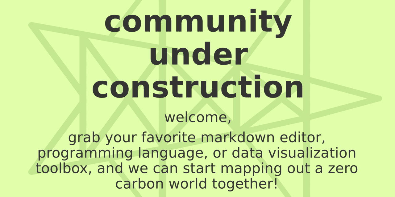 Civil Society Engagement Seeks Open Science for Rapid Decarbonization!