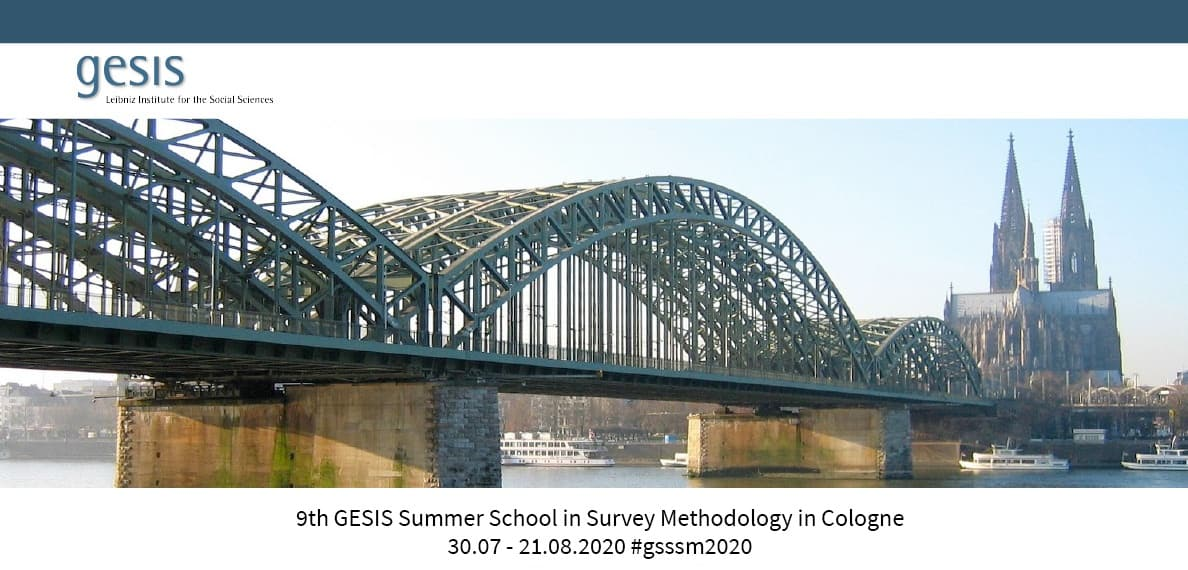 GESIS Summer School in Survey Methodology Registration Open