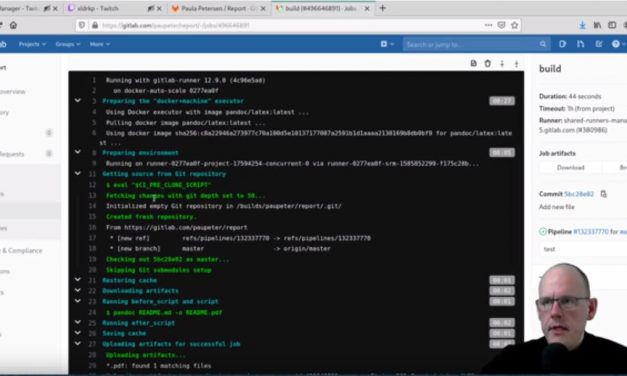 Learn to use GitLab on #twitch.tv