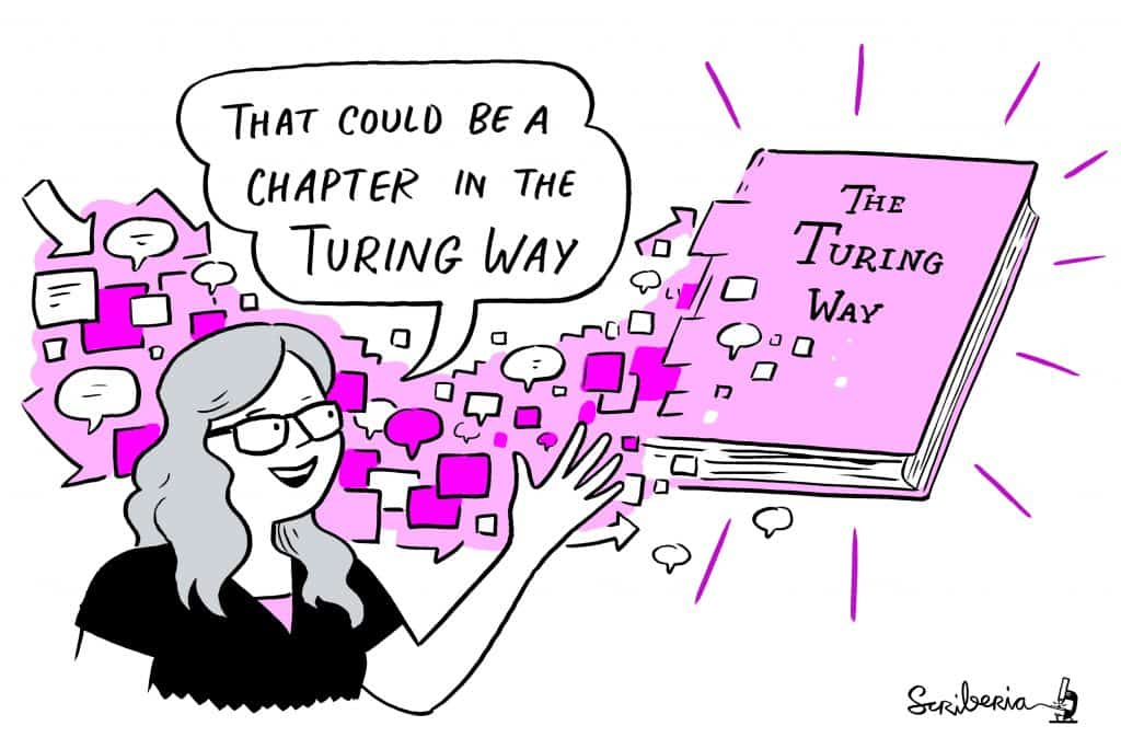 That could be a chapter in the Turing Way